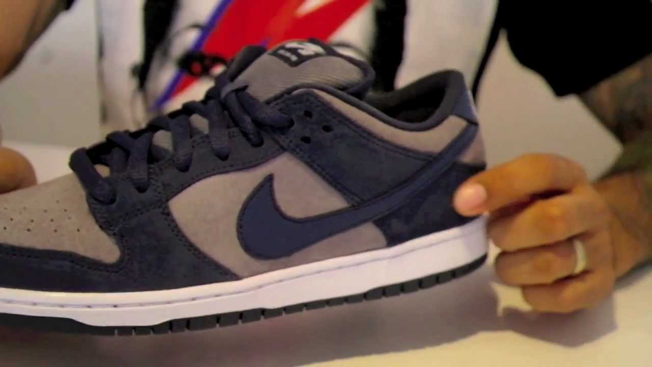 new york 6dad5 fabd3 Nike SB Dunk Low Thunder Blue   Cool Grey Review