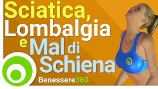 Sciatica, Lombalgia e Mal di Schiena Lombare: Esercizi Contro il Dolore