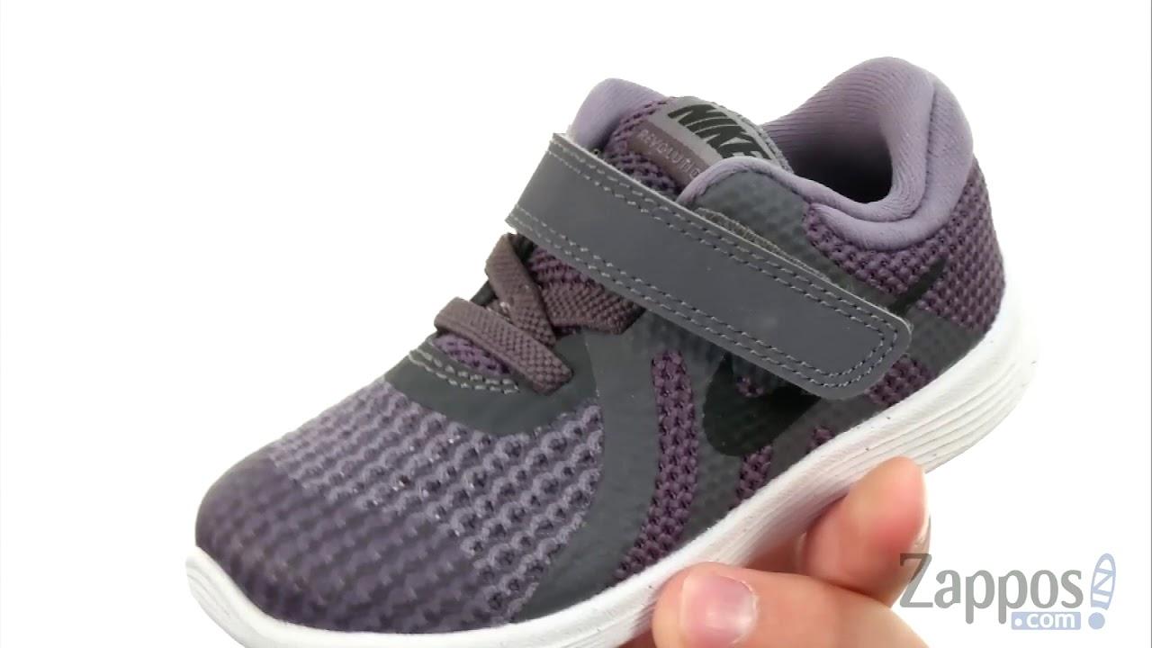 353518ce9ce1e Nike Kids Revolution 4 (Infant Toddler) SKU  8946845 - YouTube