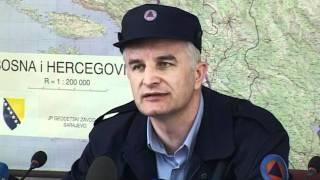 Sarajevo KZN Federalnog štaba CZ Jerko Ivankovic Lijanovic komandant Civilne zaštite FBiH Nemoguce je u potpunosti sanirati stete ali ih je moguce ublaziti 0034