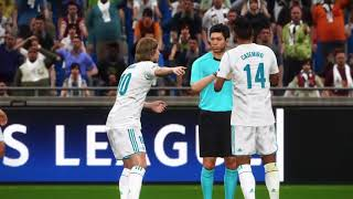 UEFA Champions League | Real Madrid - Bayern Munich | PES 2018 | Highlights