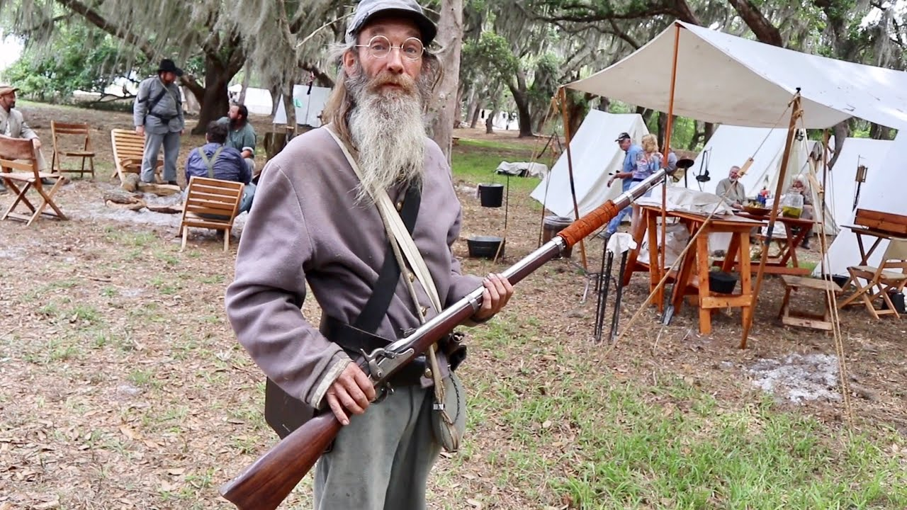Battle At Narcoossee Mill 2019 Reenactment - They Let Me Fire The Cannon /  Into The Camps & MORE