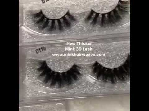 3D mink lashes good quality low wholesale price at minkhairweave