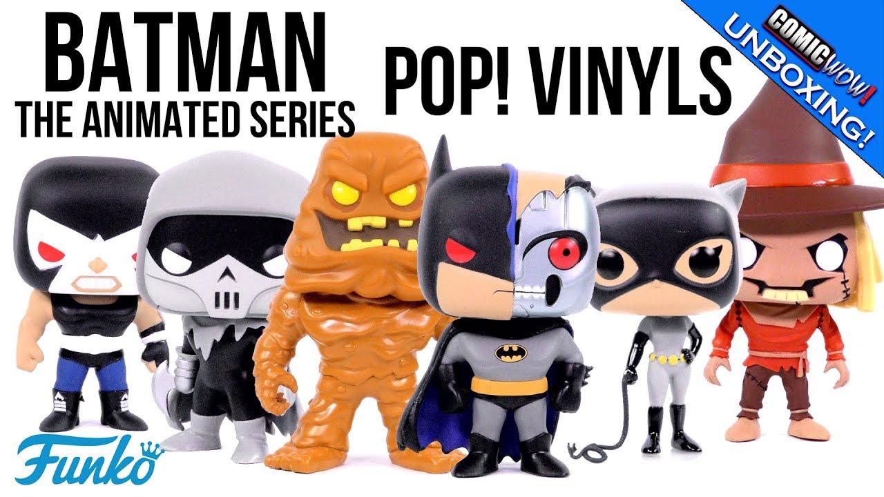 Funko POP DC Heroes ~ BATMAN THE ANIMATED SERIES WAVE 2 SET ~ Catwoman Bane++