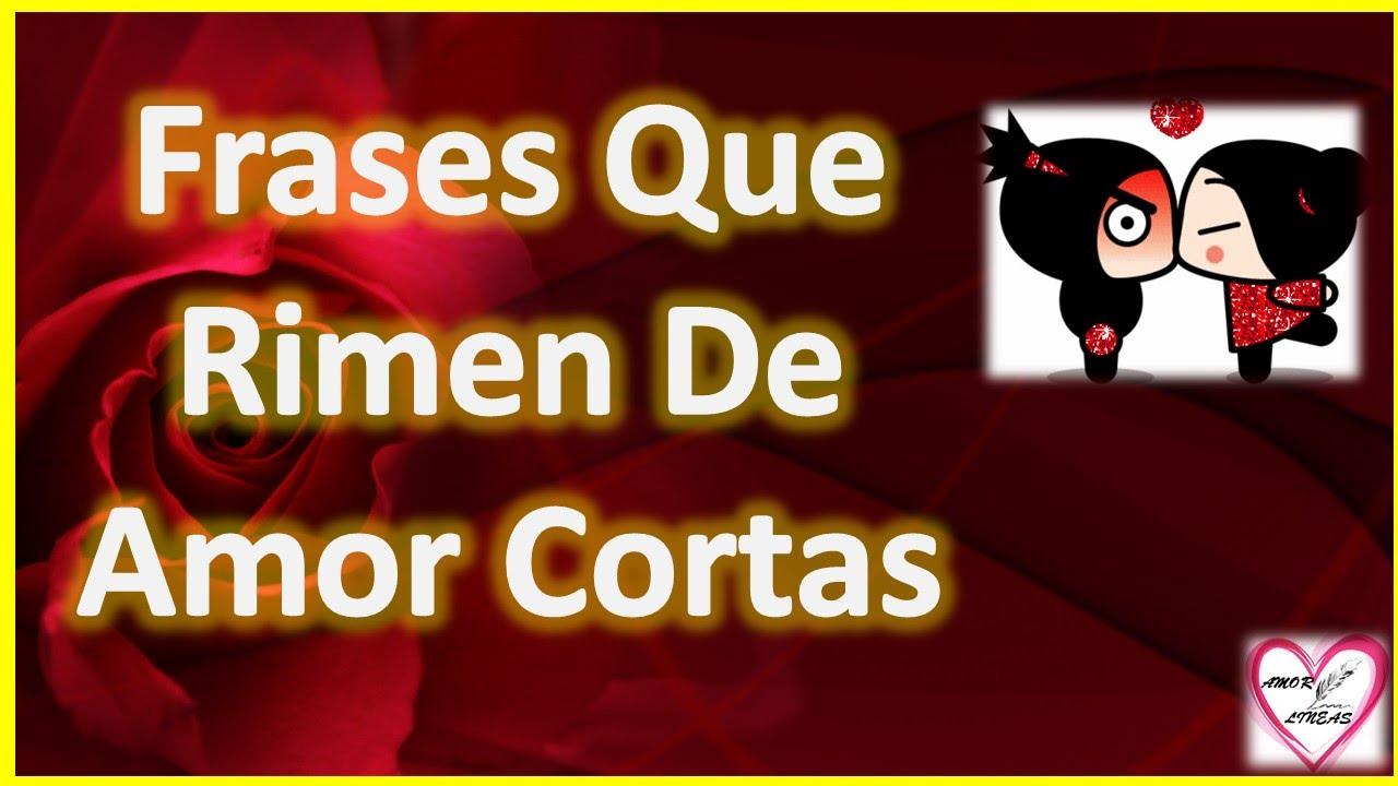 Frases De Amor Cortos: FRASES DE AMOR CORTAS PARA MSN QUE RIMEN