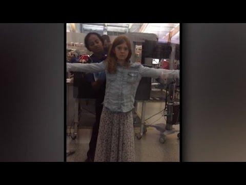 10-Year-Old Girl Upset Over TSA Agent Pat Down: 'I Felt Like Screaming'