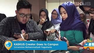 Antusiasme Mahasiswa Universitas Muhammadiyah Yogyakarta Buat Jadi KASKUS Creator!