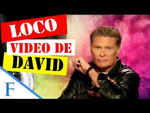 David Hasselhoff se hace viral con un video musical