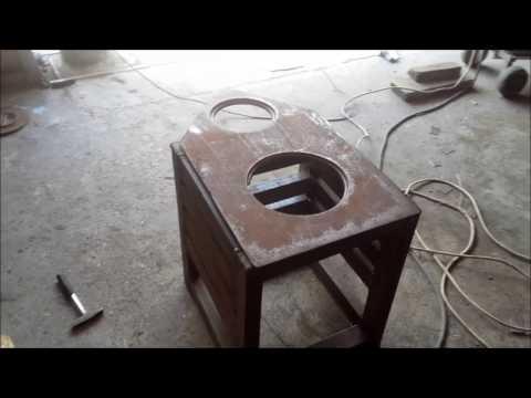 Часть 1. Переделка домашней печи в котёл для парового отопления