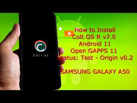 Colt OS R v7.0 for Samsung Galaxy A50 Android 11 Origin v0.2