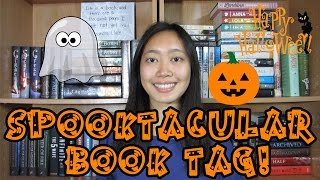SPOOKTACULAR BOOK TAG! Thumbnail