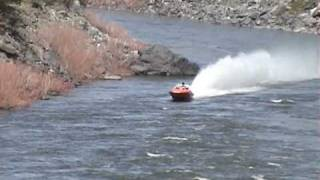 Riggins Idaho Jet Boat Races 2009 Tight Squeeze
