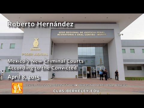 Mexico's New Criminal Courts According to the Convicted