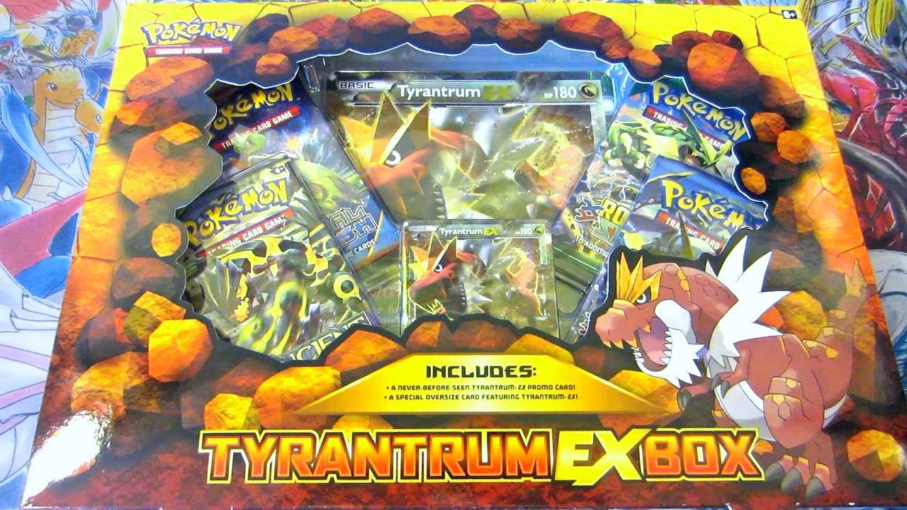 Pokemon Cards Tyrantrum Ex Box Opening Jaws Oh Baby