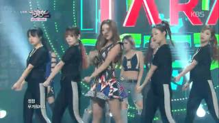 티아라(T-ARA) - Sugar Free, Music Bank 20140926