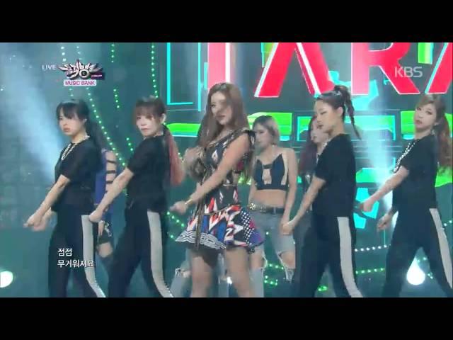 티아라(T-ARA) - Sugar Free, Music Bank 20140926