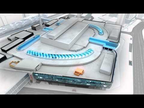 Shopping center animation - Ocean Plaza