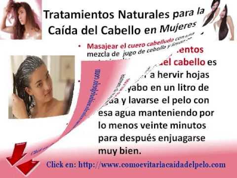Caida del pelo en mujeres remedios caseros