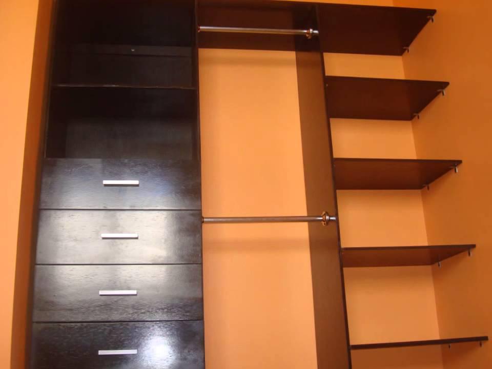 Tree muebles closet clasico youtube for Armar closet de madera