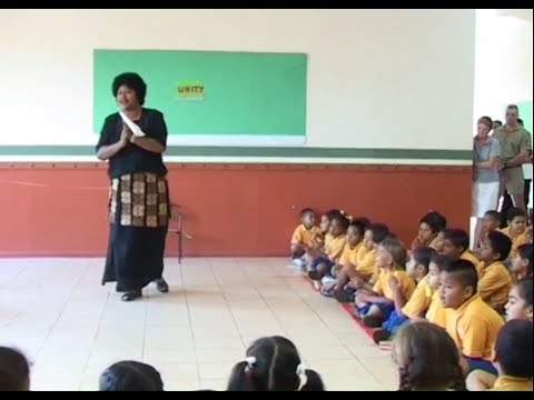 Teaching Virtues at Baha'i Ocean of Light School in Tonga *ESSENTIAL*
