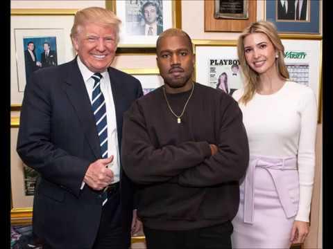 Kanye West Visits Donald Trump!