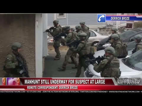 BREAKING: Boston Declares Martial Law in Wake of Manhunt