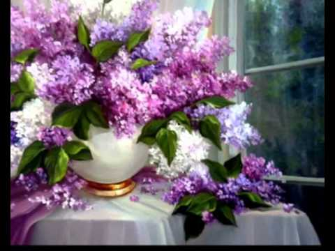 The Lilac In Vase Youtube
