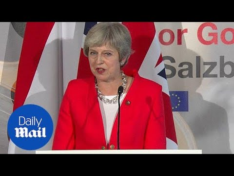 May admits Northern Ireland stumbling block in Brexit deal