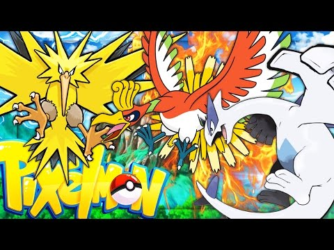 OVERPOWERED ZAPDOS, HO-OH & LUGIA | Minecraft - Pixelmon Mod Battle | JeromeASF