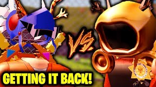 GETTING MY GOLDEN DOMINUS BACK - KreekCraft vs Girlfriend! | Roblox Jailbreak - 1 Million Robux