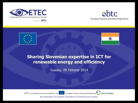 WEBINAR: Sharing Slovenian expertise in ICT for renewable energy and efficiency