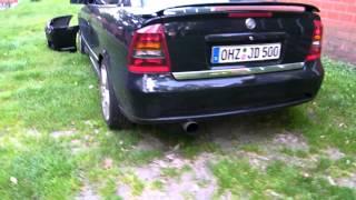 """Astra G Coupe Z20LET großer Wiltec LLK und 3"""" ab Turbo Außenansicht"""