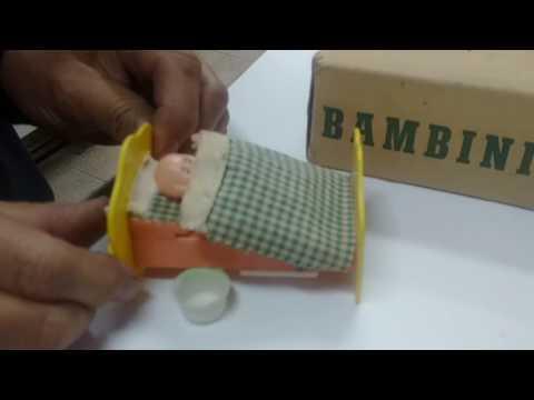 TOYS TIME - JUGUETES ANTIGUOS - Muñequito Bambini de baquelita - Ind. Argentina