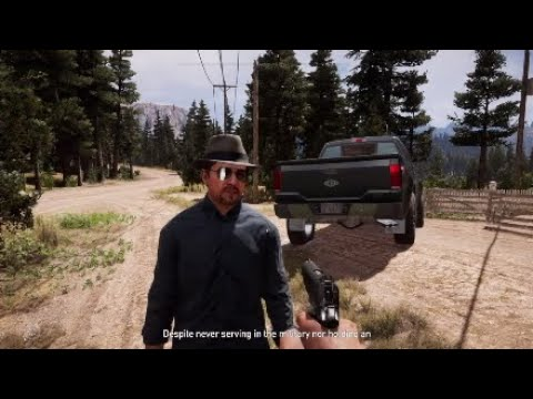 Far Cry 5 Special Agent Willis Talks About Jason Brody From Farcry