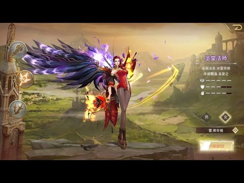The Demon Hunters 神魔猎手 Android And IOS RPG ( Chinese) Gameplay