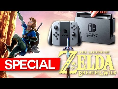 NINTENDO SWITCH! PREZENTARE + Legend of Zelda! (SPECIAL)