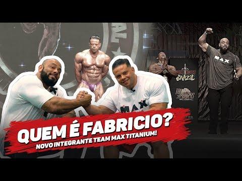 FABRICIO MOREIRA É MAX TITANIUM TEAM  JULIO BALESTRIN