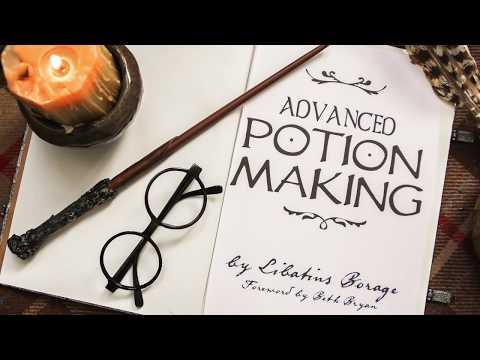 ADVANCED POTION MAKING: Harry Potter DIY Bath Potions!