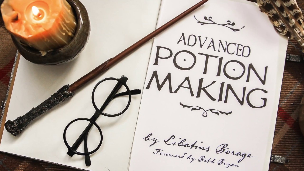 graphic about Advanced Potion Making Printable titled Innovative POTION Manufacturing: Harry Potter Do it yourself Bathtub Potions!