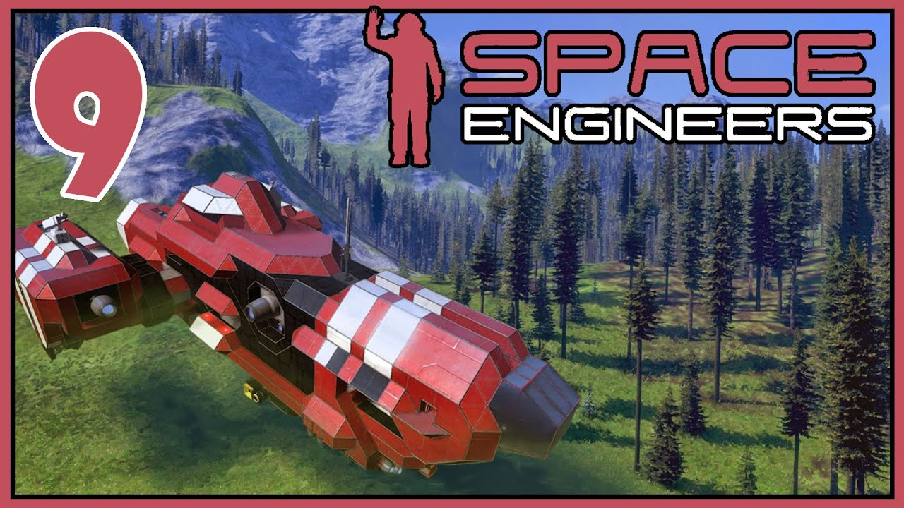 Space Engineers: Planets - Ep 9 - Terrain Scraper Pt 2 (Giving Up)
