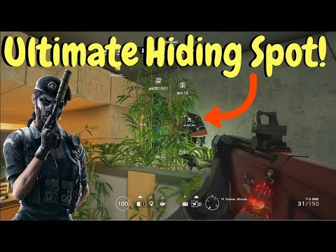 Best Place to Hide! - Rainbow Six Siege