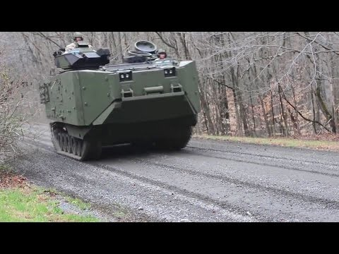 US Marine Corps - Assault Amphibious Vehicle Survivability Upgrade Program [1080p]