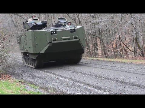 US Marine Corps - Assault Amphibious Vehicle Survivability Upgrade Program [1080p]