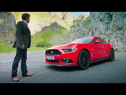 Ford Mustang GT Review by Richard Hammond #Ford