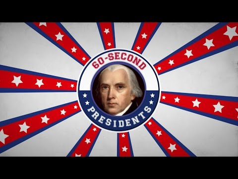 James Madison | 60-Second Presidents | PBS