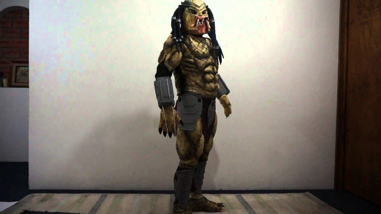 Disfraz Depredador hecho en casa - YouTube f9adbf9a676