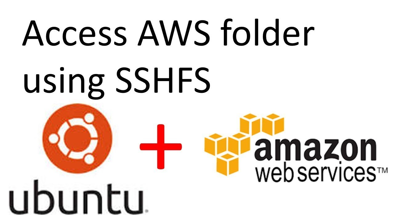 Share folder between AWS EC2 and Local machine using SSHFS