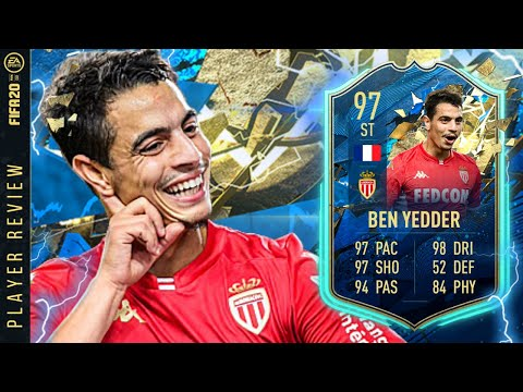 THE BEST CARD IN FUT? 97 TOTS BEN YEDDER PLAYER REVIEW! FIFA 20 Ultimate Team