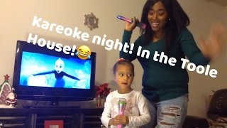 Kareoke night!😂 Vlogmas Episode04✨interracial family vlogs