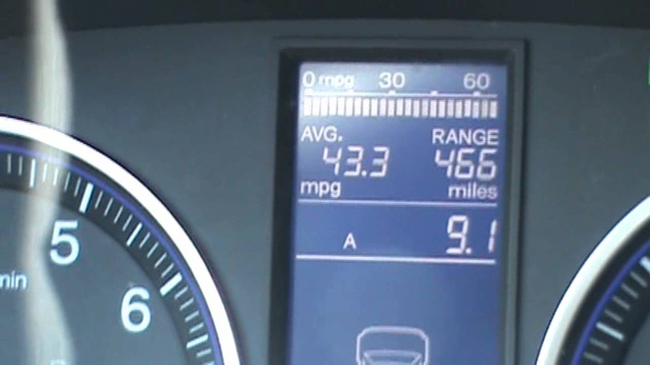 40 MPG 2011 Honda CRV   YouTube